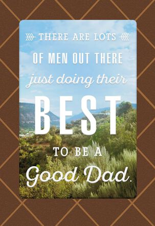 One of the Good Dads Father's Day Card