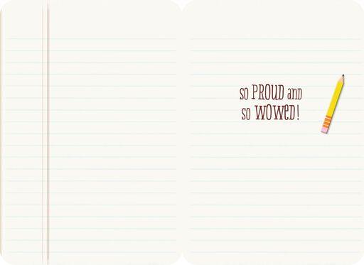 Great Job at School Congratulations Card,