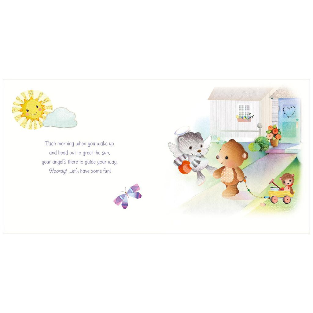 God Sent an Angel Just for You Board Book
