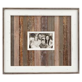 Mud Pie® Wood-Planked 4x6 Picture Frame, , large