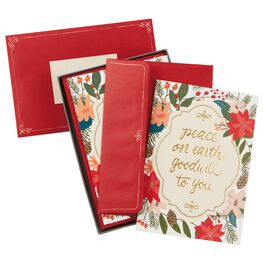 Peace On Earth Christmas Cards, Box of 16, , large