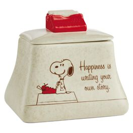 Peanuts® Typewriter Ceramic Box, , large