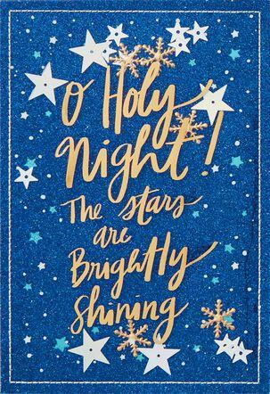 O Holy Night Christmas Card
