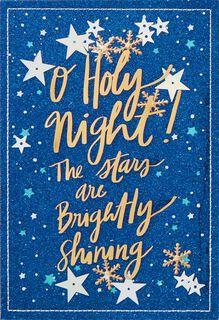 O Holy Night Christmas Card,