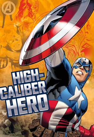 Captain America High-Caliber Hero Musical Birthday Card