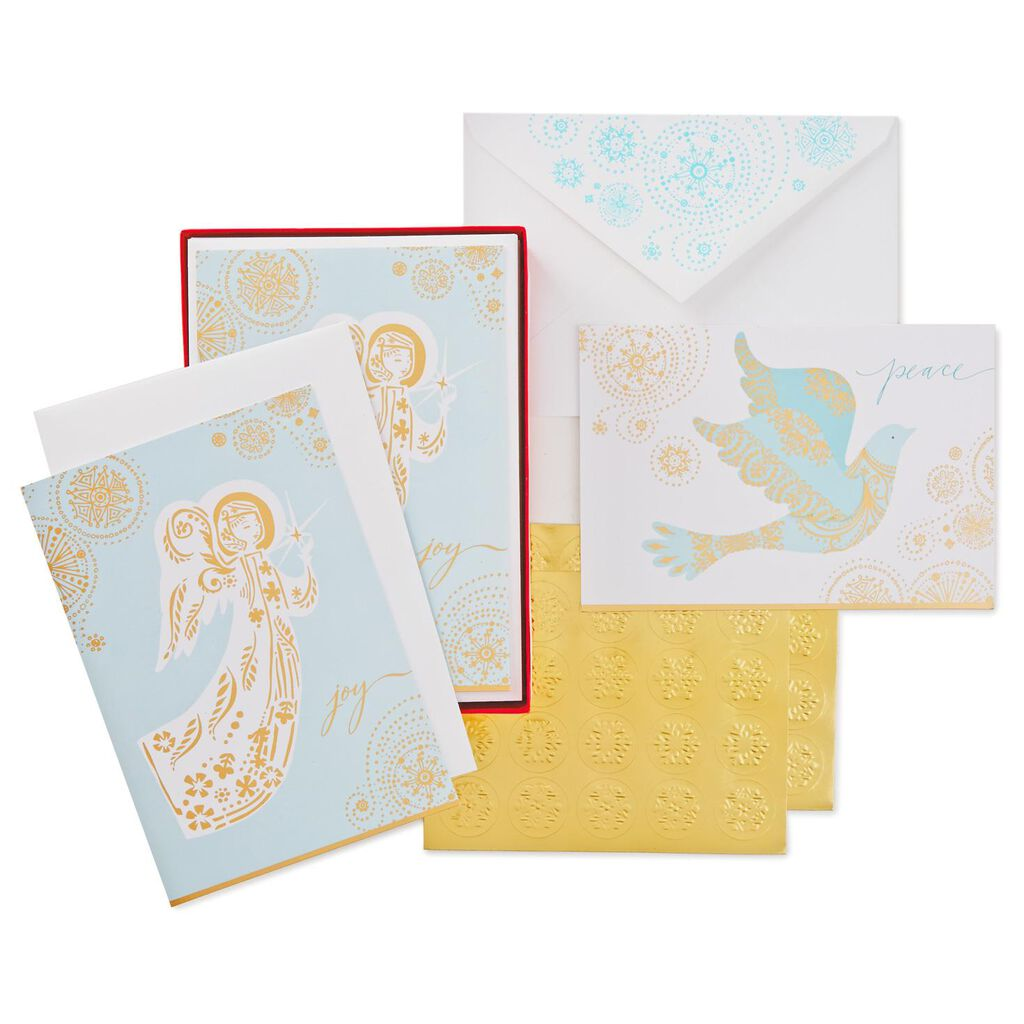 Joy Of Christmas Greeting Cards Box 40