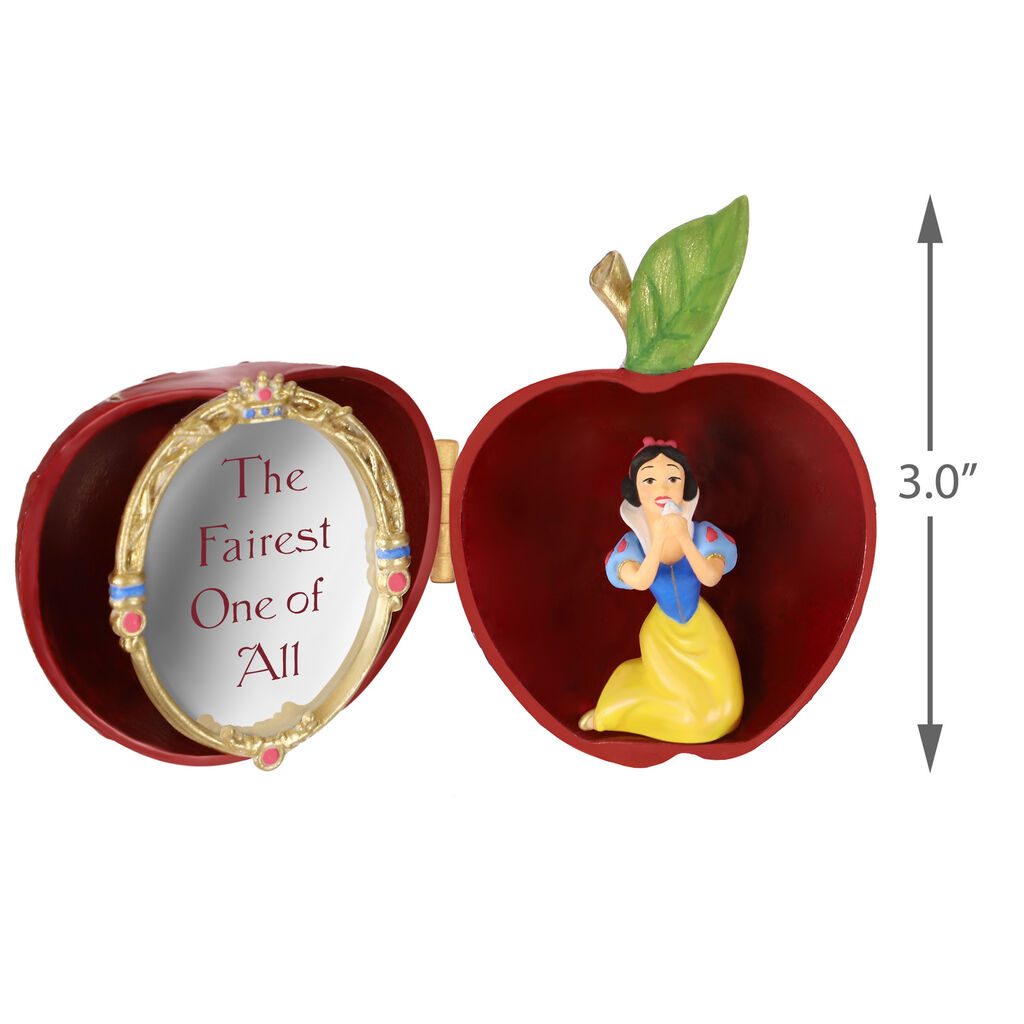 Disney Snow White and the Seven Dwarfs The Fairest One of All Metal Ornament