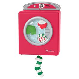 Santa's Merry Machine Mini Ornament, , large