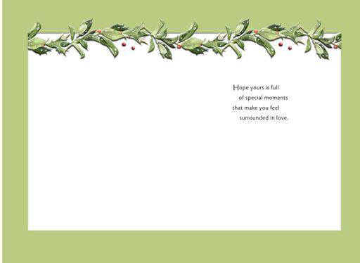 Marjolein Bastin Snowy Bunny Christmas Card,