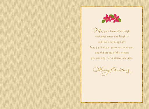 Holiday Place Setting Christmas Card,