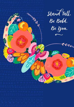Jill Scott Stand Tall, Be Bold, Be You Musical Mother's Day Card