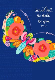 Jill Scott Stand Tall, Be Bold, Be You Musical Mother's Day Card,