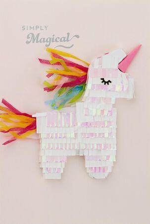 Unicorn Simply Magical Birthday Card