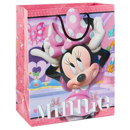 "Minnie Mouse Bowtique Medium Gift Bag, 9.75"", , large"