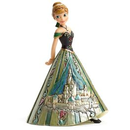 Jim Shore® Arendelle Royalty Anna of Frozen Figurine, , large