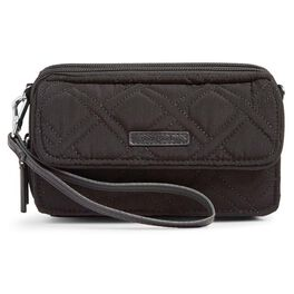 Vera Bradley RFID All-in-One Crossbody Purse in Classic Black, , large