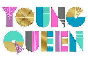 Jill Scott Young Queen Birthday Card