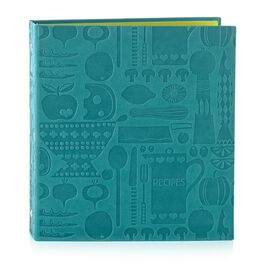 Embossed Recipe Binder, , large