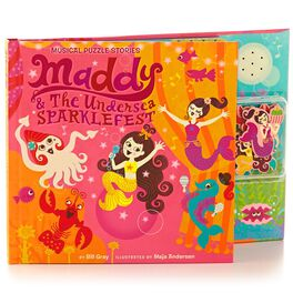 Maddy & The Undersea Sparklefest Interactive Musical Puzzle Storybook, , large