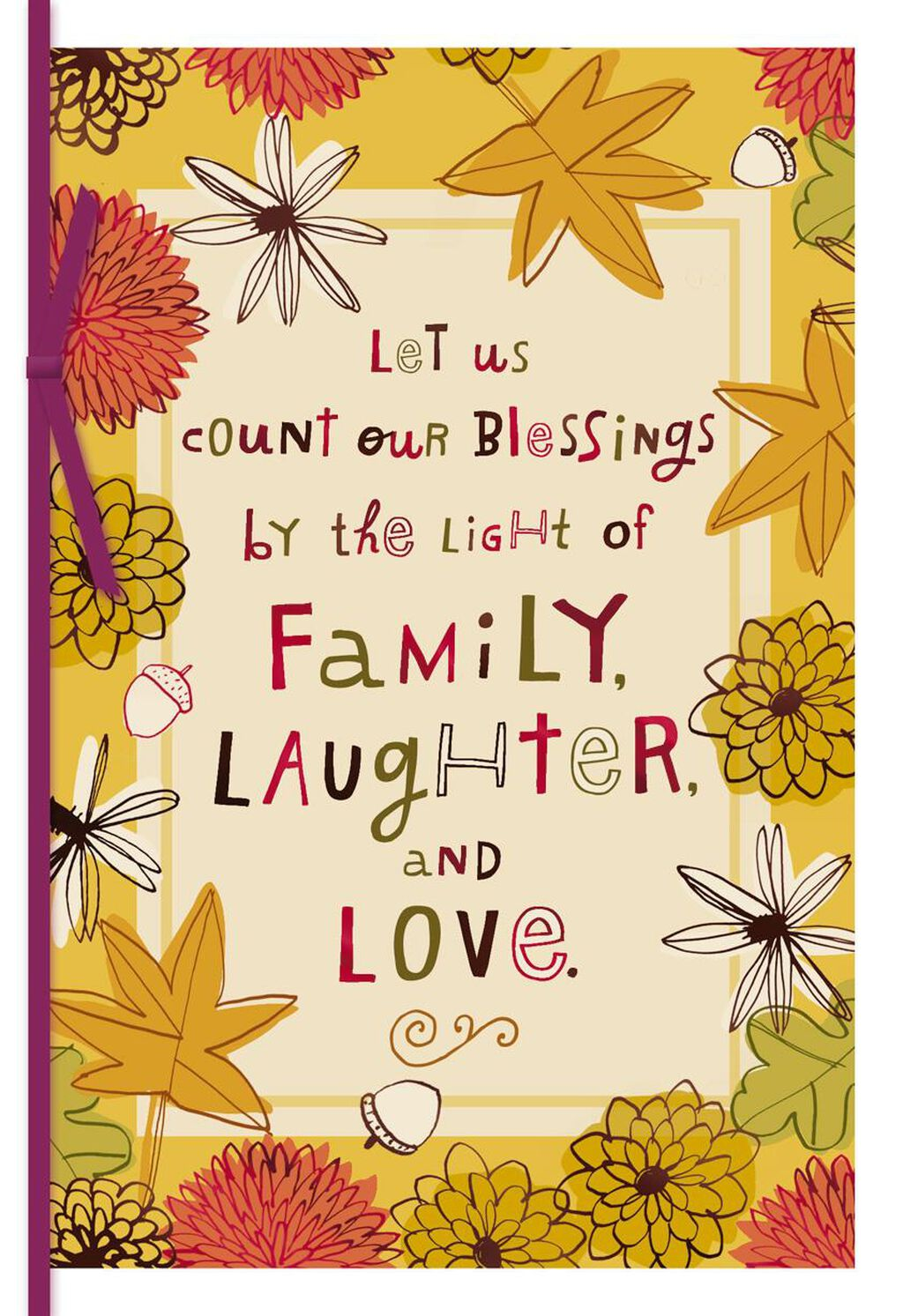 Family Love And Laughter Thanksgiving Card Greeting Cards Hallmark
