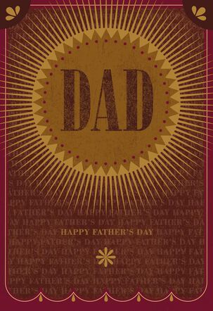 You Make Us Happy and Safe Father's Day Card