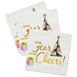 Cheers Cocktail Napkins, Pack of 16, , large