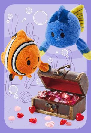 Finding Nemo itty bittys® Greetings Valentine Card