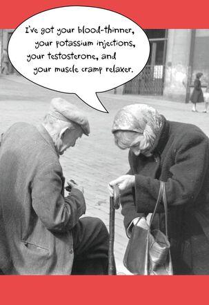 Prescription for Love Funny Valentine's Day Card