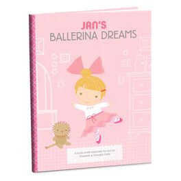 Ballerina Dreams Personalized Book, , large