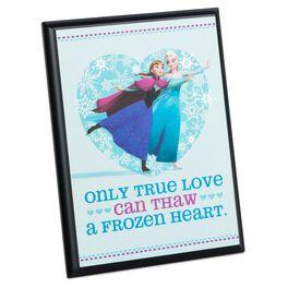 Disney Frozen Elsa and Anna Plaque, , large