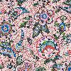 Vera Bradley Iconic Zip ID Case in Stitched Flowers,