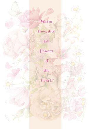 Bastin Flowers and Butterflies Birthday Card
