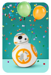itty bittys® BB-8™ How You Roll Birthday Card,