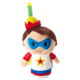 itty bittys® Birthday Boy Hero Stuffed Animal, , large