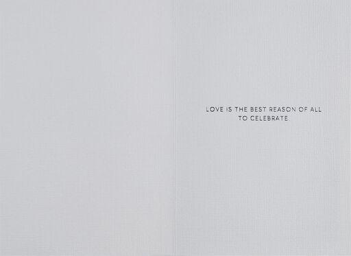 Three-Tiered Cake Congratulations Wedding Card,