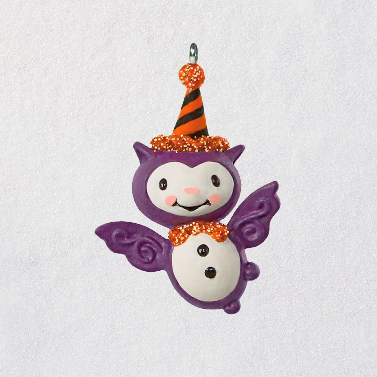 Mini Bitty Bat Halloween Ornament 141