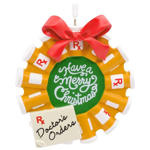 Doctor/Nurse Scrubs Stocking Hallmark Ornament - Gift Ornaments ...