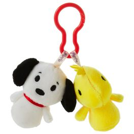 Peanuts® Snoopy and Woodstock itty bittys® Clippys Stuffed Animals, , large