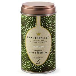 Mint Green Tea Sachets Tin, , large