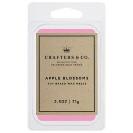 Crafters & Co. Apple Blossoms Wax Melt, 2.5-oz, , large