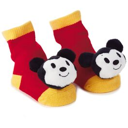 Mickey Mouse itty bittys® Baby Rattle Socks, , large