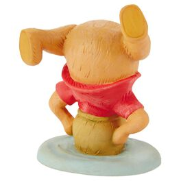 Winnie the Pooh Stuck in a Honey Pot Figurine, , large