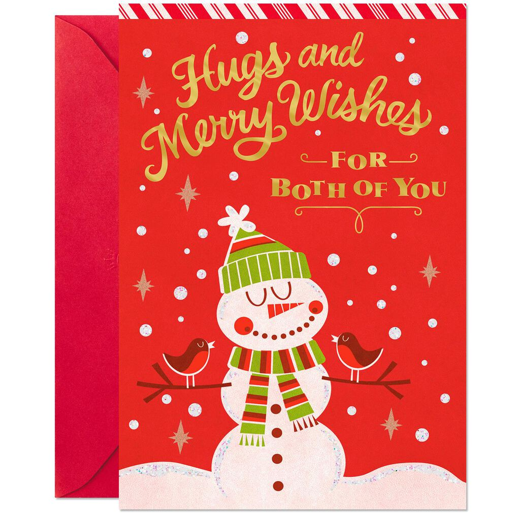 Merry Wishes Christmas Card for Both - Greeting Cards - Hallmark