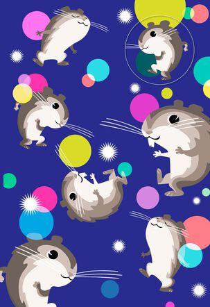 Hamster Dance Birthday Card