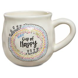 Natural Life Cup of Happy Mug, 16 oz., , large