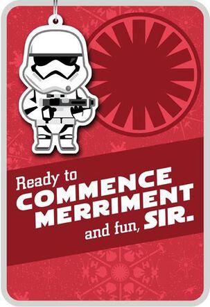 Commence Merriment Stormtrooper™ Christmas Card