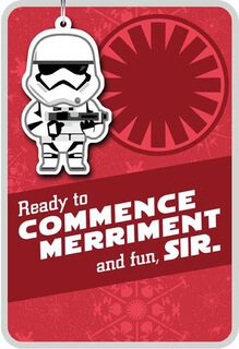 Commence Merriment Stormtrooper™ Christmas Card,