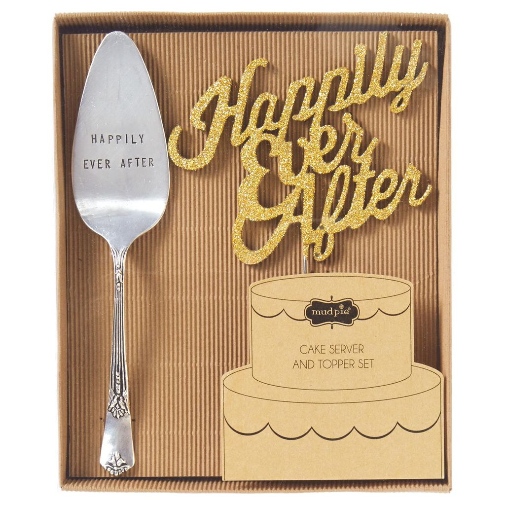 Mud Pie® Happily Ever After Wedding Cake Set, 2 Pieces - Party ...