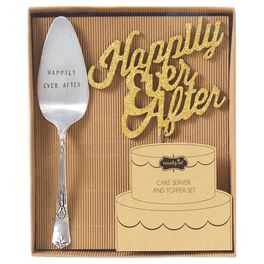 Mud Pie® Happily Ever After Wedding Cake Set, 2 Pieces, , large