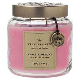 Crafters & Co. Apple Blossoms Candle, 16-oz, , large